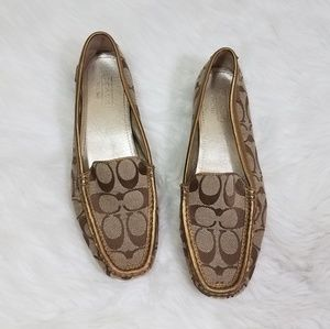Coach Sheela Signature Loafers